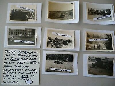 LOT OF 8 VINTAGE WW2 WWII MILITARY PHOTOS 1940's - GERMAN SOLDIERS NAZIS