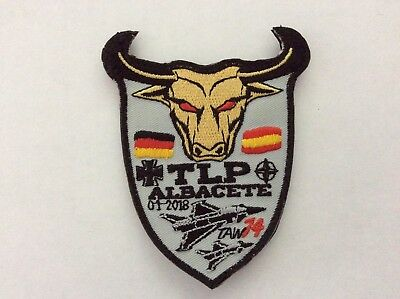 Official Patch Germany TLP Albacete 1/18 TAW 74 Eurofighter