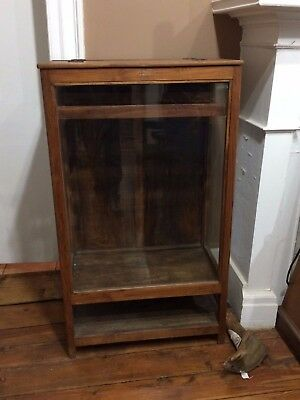 Very Interesting Antique Mercantile/General Store Glass Display Case