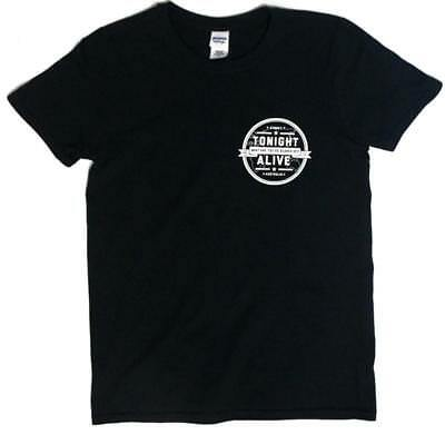 Tonight Alive What Are You So Scared Of Tee (Black) 24Hundred