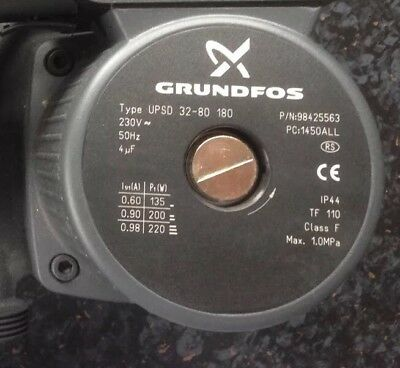 Grundfos UPSD 32-80 Commercial Circulator Pump Replacement Head 95906455 #531