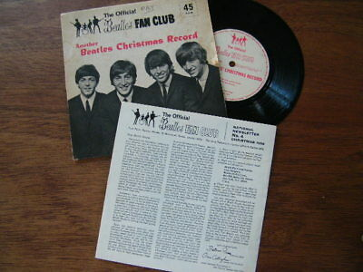 "Beatles Another Beatles Christmas Record 1964 -  UK 7""  vinyl single record"