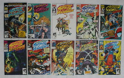 GHOST RIDER BLAZE Spirits Of Vengeance 1992 1994 Midnight Sons VENOM 1