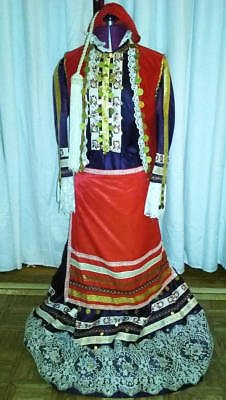 Handmade Greek Amalia National Costume