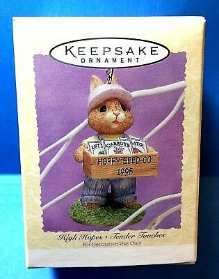 "Hallmark ""High Hopes"" Easter Spring Ornament Dated 1995"