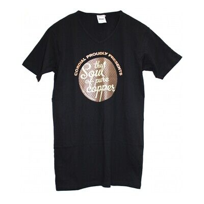 "Cordial JN912-M ""the Soul of pure copper"" T-Shirt in Größe M"