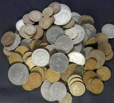 Hong Kong, A Pile Of 1 Lb + 6 Ozs Of Old And New Coins