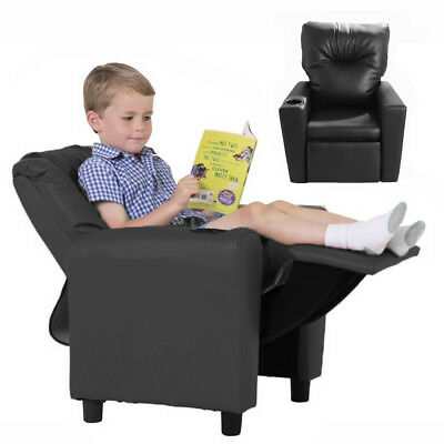 Kids Recliner Childrens Lounger Armchair Games Chair Sofa Seat With