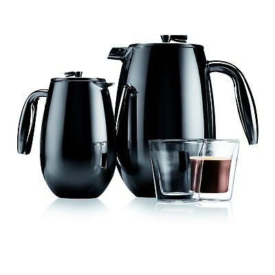 Coffee Maker Columbia Double Wall Stainless Steel Bodum 8 cup 1 L French Press