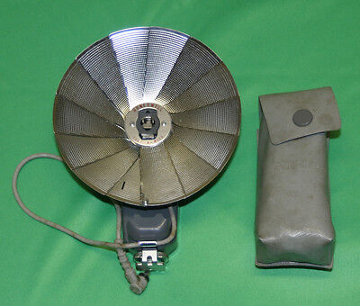 Vintage Honeywell Early Camera Fan Flash For Bulbs