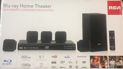 RCA Blu-ray Home Theater With Wireless Streaming Media Access