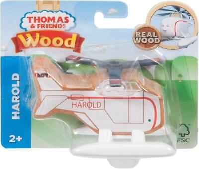 NEW Thomas & Friends Real Wood Toy Train Helicopter Harold