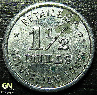 Illinois Tax Token 1 1/2 Mills  --  MAKE US AN OFFER!  #O3915