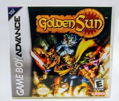 Golden Sun GBA Custom DS Replacement CASE (*NO GAME*)