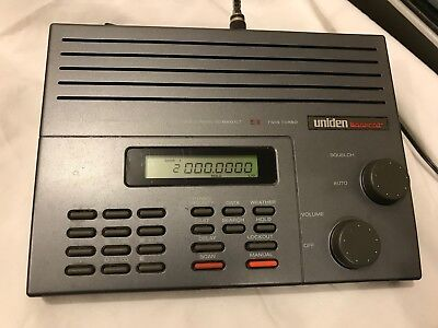 uniden bearcat bc 200xlt scanner with manual 32 00 picclick rh picclick com Uniden Bearcat Police Scanner Radio Uniden Bearcat Police Scanner