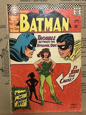 June 1966 BATMAN No #181 1st Introducing Poison Ivy INCLUDES CENTERFOLD! Dynamic