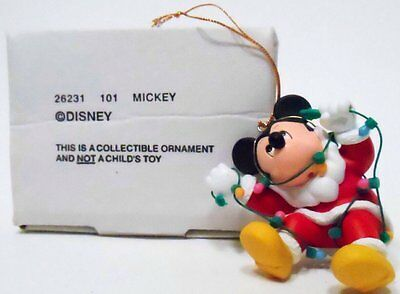 christmas magic Disney Ornament Collectible 26231 101 Mickey Mouse Lights