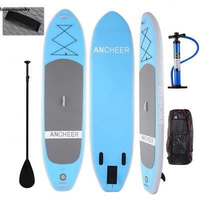 SUP Board Stand Up Paddle Surf-Board aufblasbar mit Paddel ISUP Paddling 305cm