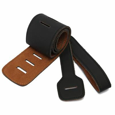 Handicraft For Electric Acoustic Guitar Bass Thick Strap Belt PU Leather