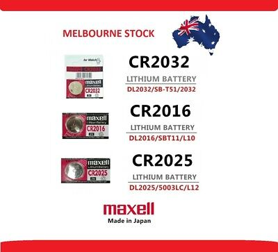 Multiple MX Max Batteries CR2016 CR2025 CR2032 Melb Stock 3V Lithium Battery - F