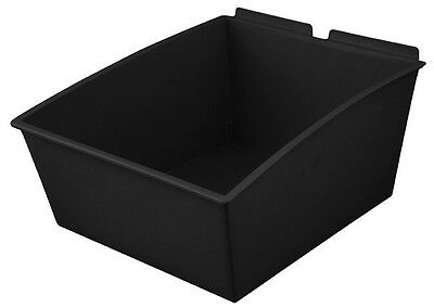Slatbox Popbox tubs 230 to suit slatwall. Clear only 280mm x 350mm x 165mm.