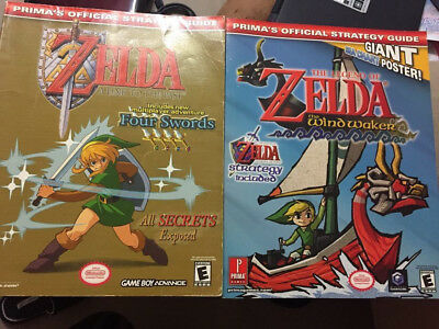 Strategy Guide Lot -The Legend Of Zelda - The Wind Waker -  A Link To The Past