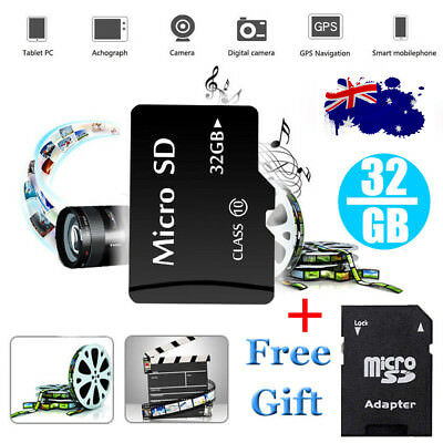 32GB 64GB 128GB Extreme Pro Micro SD Memory Card TF SDHC SDXC Class 10 + Adapter