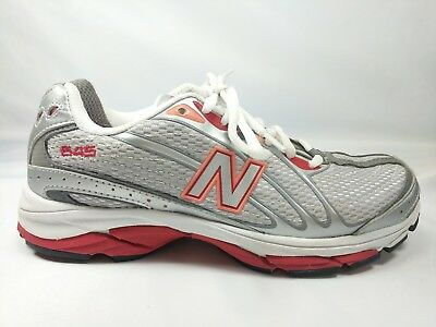 3454d772a1fff New Balance 645 Womens Size 6.5 Running Tennis Training Athletic Shoe Gray  White