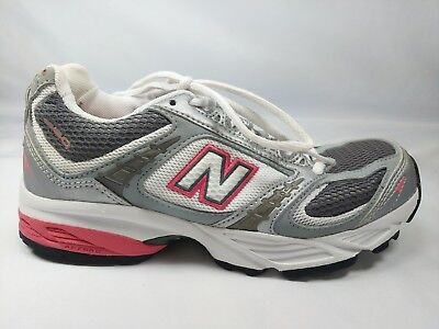 761bebe74b89c New Balance 660 Womens Size 6 Running Athletic Sports Training Shoes Gray  White
