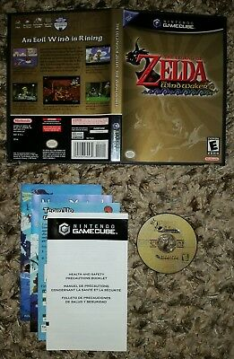 Legend of Zelda: The Wind Waker (GameCube) COMPLETE TESTED FAST SHIPPING