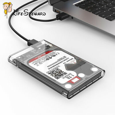2.5 inch USB 3.0 SATA HDD Hard Drive Mobile Disk External Enclosure Case Box