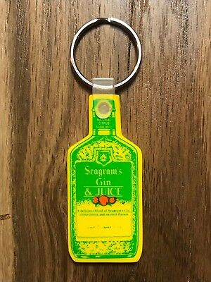 Seagram's Gin & Juice Collectible Keychain