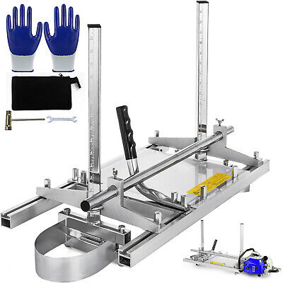 Fit 14''-24'' Chainsaw Guide bar Chain Saw Mill Log Planking Lumber Cutting Tool