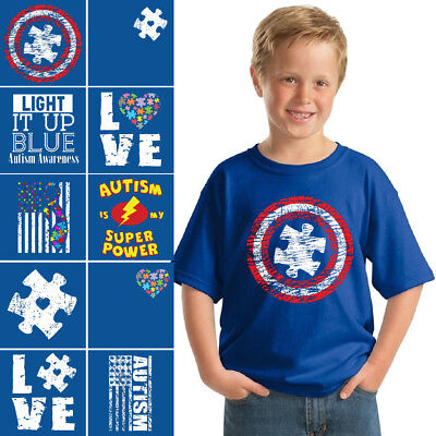 Autism Shirts for Kids Boys Autism Shirts Girls Autism Awareness T shirts