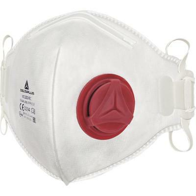 Delta Plus M1300VB FFP3 Valved Disposable Respiratory Face Masks - Box of 10