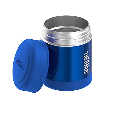 Thermos Funtainer Insulated Vacuum Stainless Steel 10 Oz Beverages Food Jar Blue