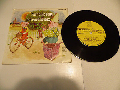Kinderplatten - Pinky and Perky - Pushbike song - Jack - in - the - box - EMI