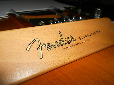Replacement decal for 1954-1960 Fender Stratocaster Decal Vintage Logo