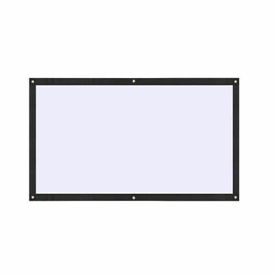 Portable Projector Screen Moviescreen Home Theater School Foldable 70 Inch