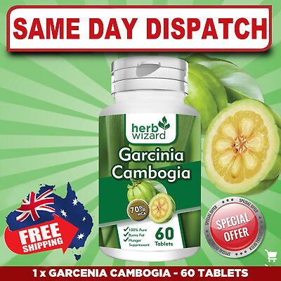 ORGANIC Garcinia Cambogia HUNGER SUPPRESSION FAST METABOLISM BOOSTER FAST SHIP!