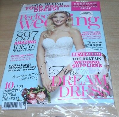 Perfect Wedding magazine #145 2018 Best UK Suppliers, Vintage Vibes, Hairstyles