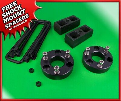 "FITS NISSAN TITAN 2004-2015 F/&R LIFT KIT 3/"" /& 2/"" SPACERS STEEL BLOCKS  4WD USA"