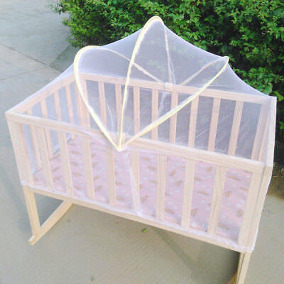 Baby Bed Tent Infant Canopy Folding Anti Mosquito Net Toddlers Crib Cot Netting