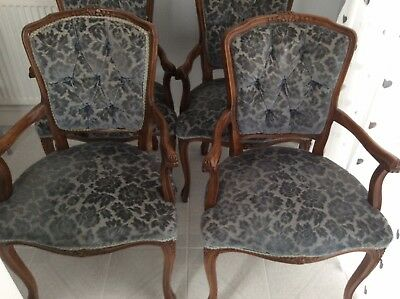 Four Carver Chairs For Refurb!!
