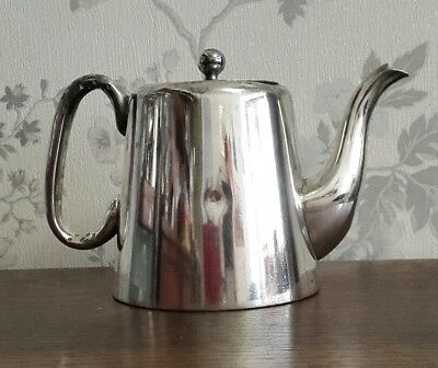 A Vintage Silver Plated Teapot, Hotel Ware, 2 Pint