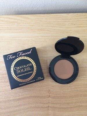 Too Faced Chocolate Soleil Matte Bronzer Travel Size 0.08oz/2.5g New In Box