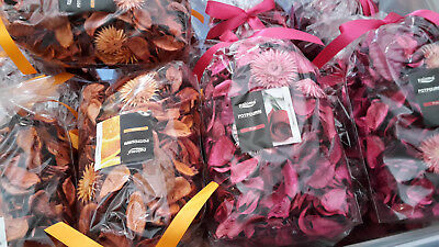 17 x Duftende Potpourri in Rose und Orange NEU OVP