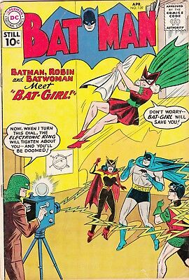 Batman No. 139 April 1961 first appearance Bat-Girl Betty Kane
