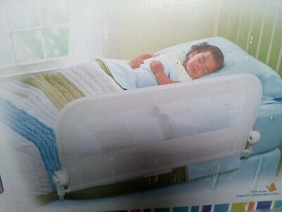 Toddler Child Summer Grow With Me Bedrail Bed Guard 18mths