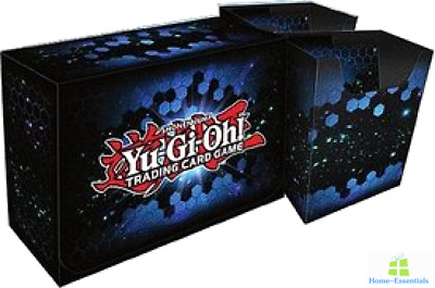 Card Storage Case Box For Yugioh Game Cards Holder Double Deck Organizer Blue